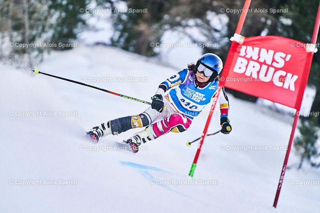 ALS5729_WWMG_GS-II_C | (C) FotoLois.com, Alois Spandl, WinterWorldMastersGames 2020 Innsbruck, Giant Slalom-II Gruppe C Damen, Patscherkofel Olympiaabfahrt, Mi 15. Jänner 2020.
