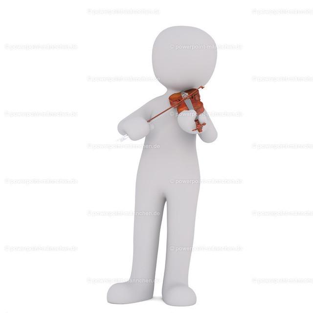 playing the violine   Quelle: https://3dman.eu   Jetzt 250 Bilder kostenlos sichern