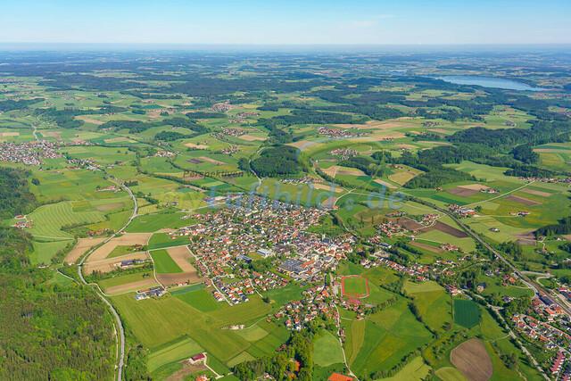 luftbild-teisendorf-bruno-kapeller-10 | Luftaufnahme von Teisendorf im Fruehling 2019