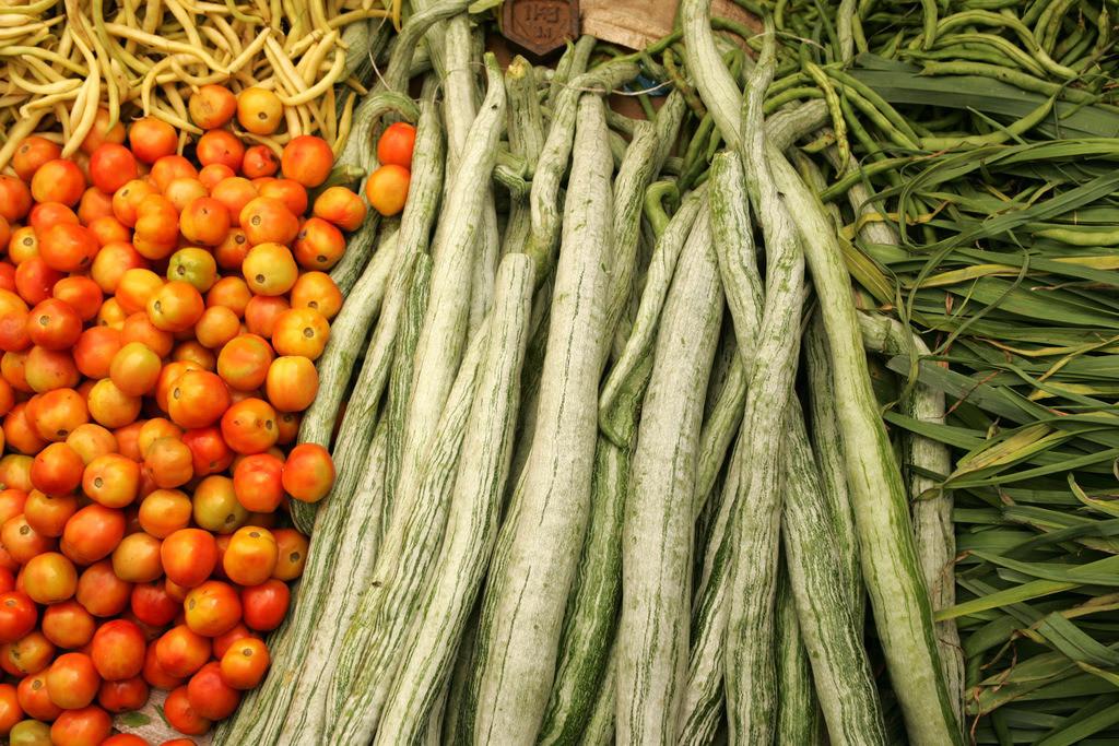 Sri Lanka   Verschiedene Gemüsesorten