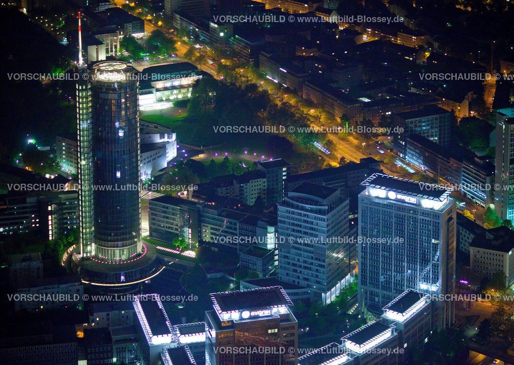 ES10052559 | City mi Hauptbahnhof bei Nacht,  Essen, Ruhrgebiet, Nordrhein-Westfalen, Germany, Europa, Foto: hans@blossey.eu, 14.05.2010