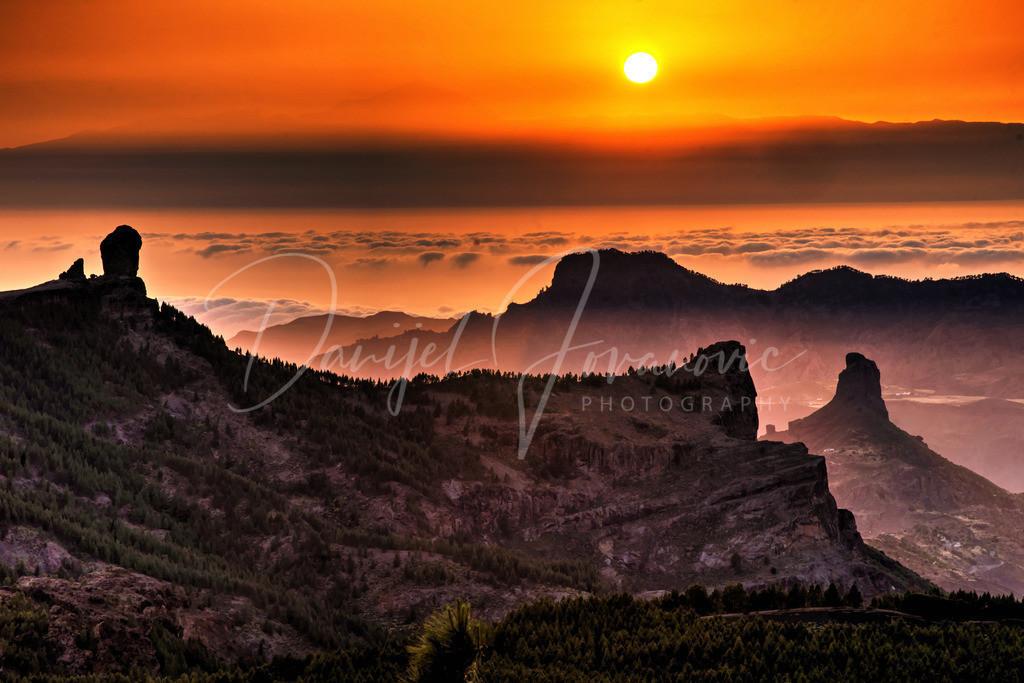 Roque Nublo | Sonnenuntergang am Roque Nublo