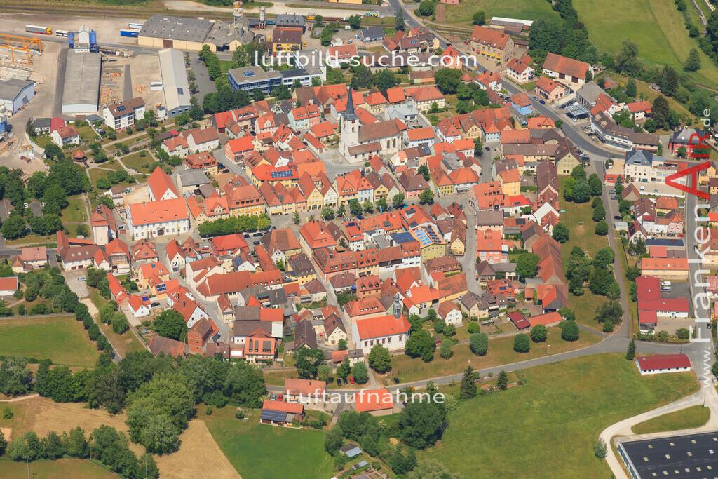 luftbild-schluesselfeld-2015-4721 | Luftbild von  Schluesselfeld - Luftaufnahme wurde 2015 von https://frankenair.de mittels Flugzeug (keine Drohne) erstellt - die Geschenkidee