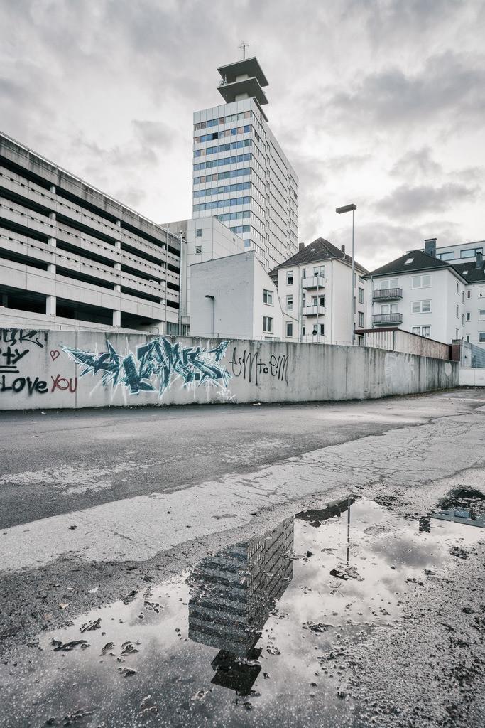 Hochhaus am Kesselbrink | Altes Telekom-Hochhaus am Kesselbrink in Bielefeld