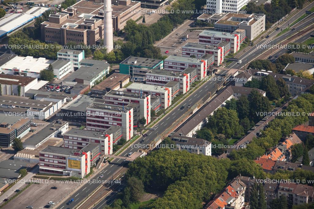 ES10095591 | Luftbild, ETEC Essen an der A40, Technologiezentrum Essen,  Essen, Ruhrgebiet, Nordrhein-Westfalen, Germany, Europa, Foto: hans@blossey.eu, 11.09.2010