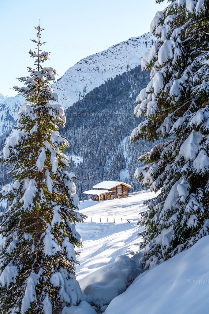 Winterwandern Richtung Lattenalm Gemais-8