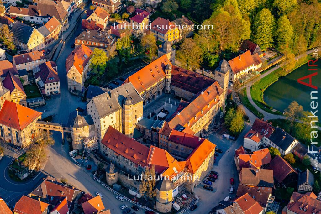schloss-thurnau-18-219 | aktuelles Luftbild von Schloss Thurnau - Luftaufnahme wurde 2018 von https://frankenair.de mittels Flugzeug (keine Drohne) erstellt.