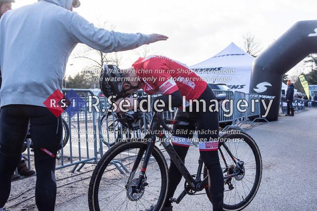 Radsport, Stevens Cyclocross Cup 2019, 10. Lauf (RSG Nordheide), Rennen 9 (Elite Herren + U23, Masters 2 / Elite Ü40 und Junioren U19), Buchholz i.d.N., 19.01.2020 | Hagen Lindner (Cyclocross Hamburg e.V., #31, Elite)