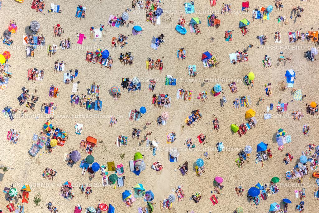 Haltern13081792 | Silbersee II aus der Luft, Sandstrand und türkisfarbenes Wasser, Luftbild von Haltern am See