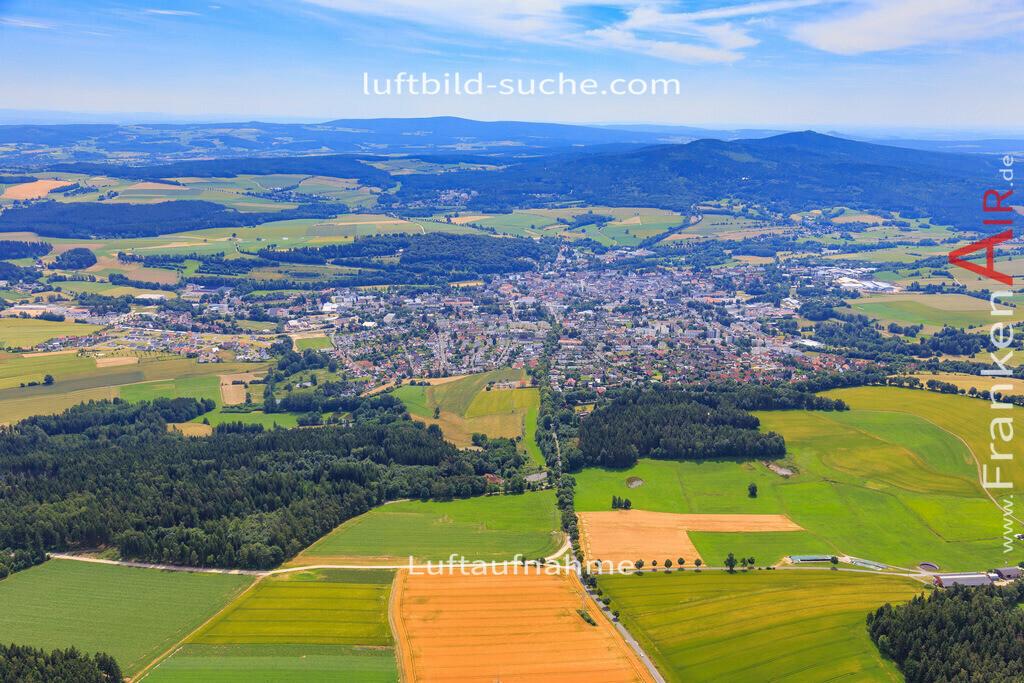wunsiedel-2016-3771   Luftbild von  Wunsiedel - Luftaufnahme wurde 2016 von https://frankenair.de mittels Flugzeug (keine Drohne) erstellt - die Geschenkidee