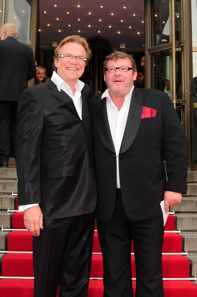 25. Jahre Friedrichstadtpalast | Schauspieler Walter Plathe und Wolfgang Lippert