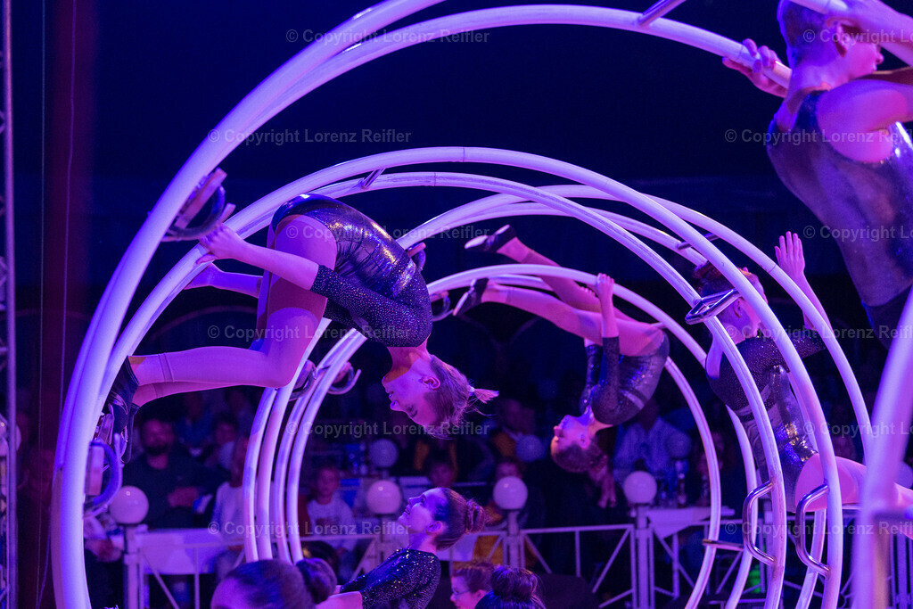 Turnen -  Zirkus GYMtasia Getu Waldstatt 2019   Waldstatt, 16.11.19, Turnen - Zirkus GYMtasia Getu Waldstatt. (Lorenz Reifler)