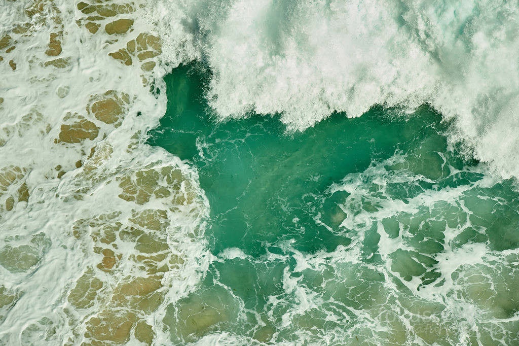 Meeresrauschen   Wellen und Wogen des Atlantik am Cape Point