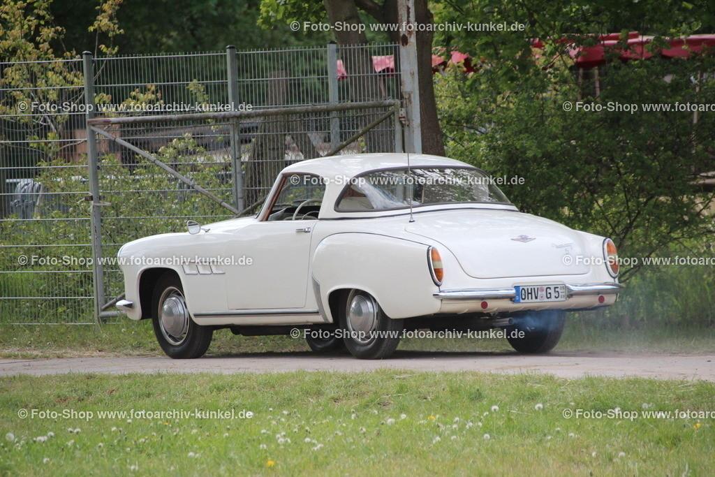 Wartburg 313-1 Sport Roadster mit Hardtop, 2 Türen, 1957-1963 | Wartburg 313-1 Sport Roadster, Hardtop-Cabrio 2 Türen 2 Sitze, Farbe: Weiß, Creme, Bauzeit: 1957-1963, AWE, IFA, DDR