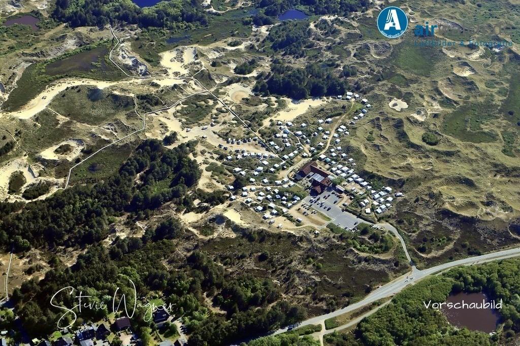 Luftbild Amrum, Wittduen, Norddorf, Nebel, Kniepsand, Nordsee   Luftbild Amrum, Wittduen, Norddorf, Nebel, Kniepsand, Nordsee