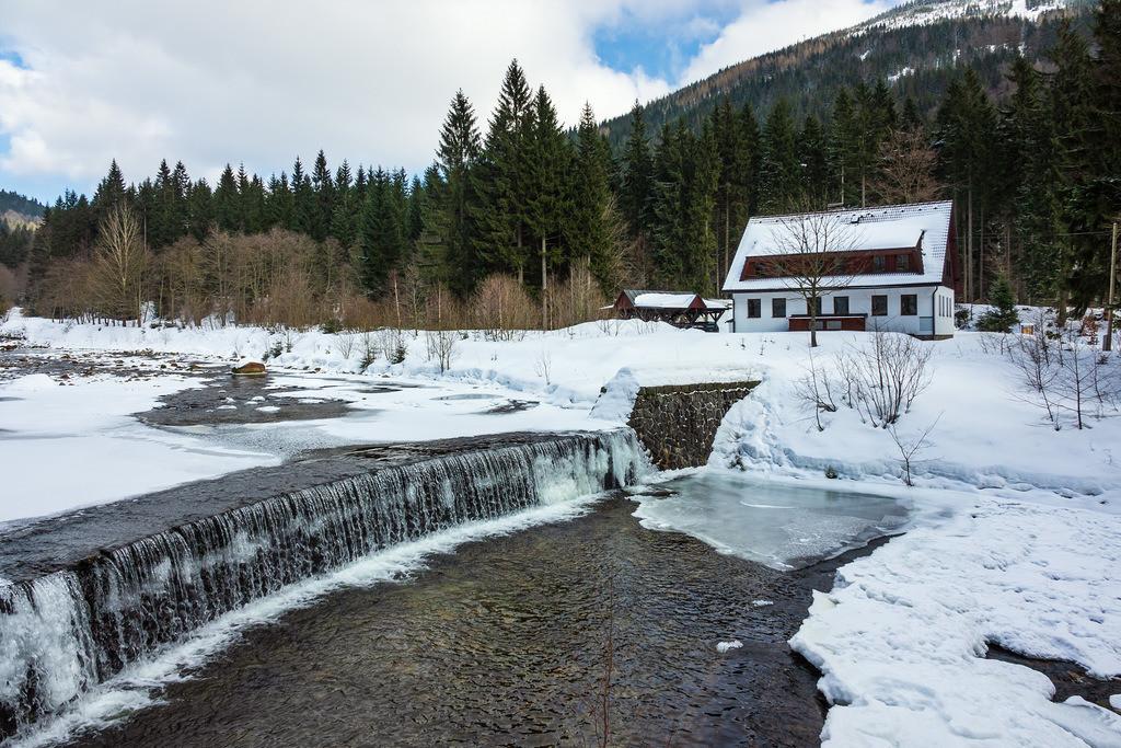 rk_05770   Winter im Riesengebirge bei Spindlermühle, Tschechien.