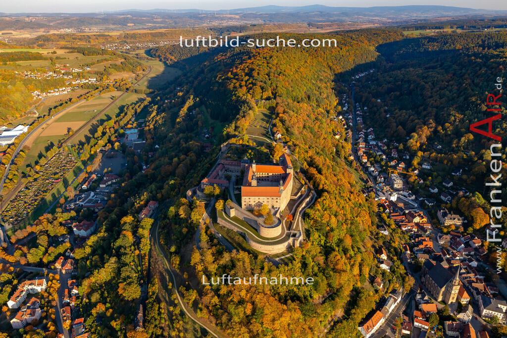 plassenburg-kulmbach-18-386   aktuelles Luftbild von Plassenburg Kulmbach - Luftaufnahme wurde 2018 von https://frankenair.de mittels Flugzeug (keine Drohne) erstellt.