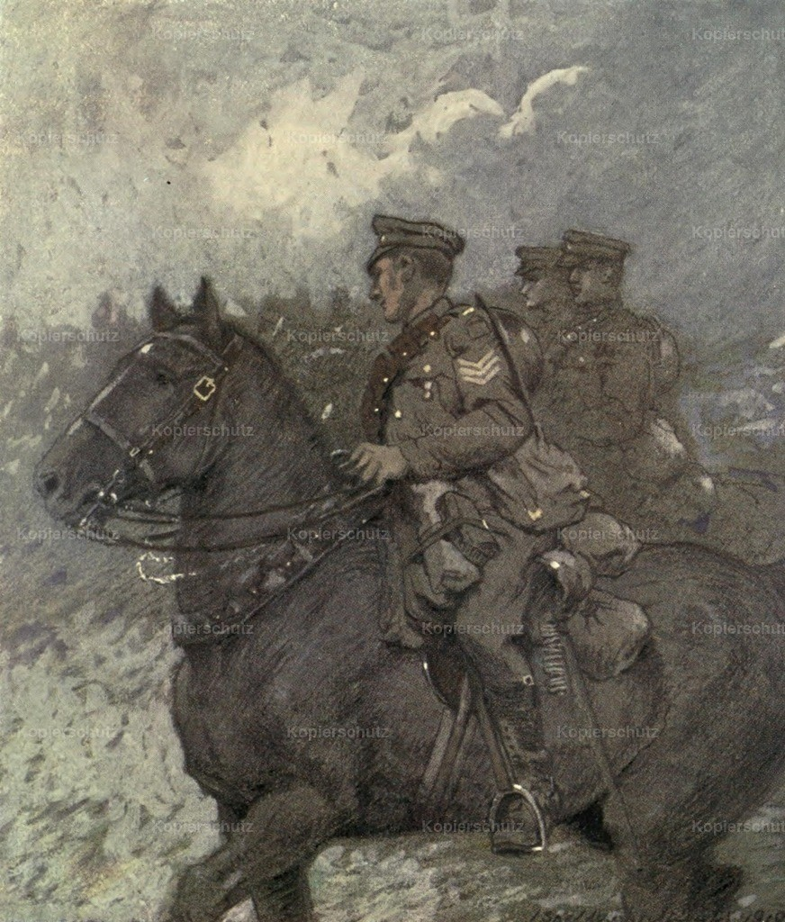 Sheldon-Williams_ Inglis (1870-1940) - Canadian Front 1920 - Fort Garry Horse