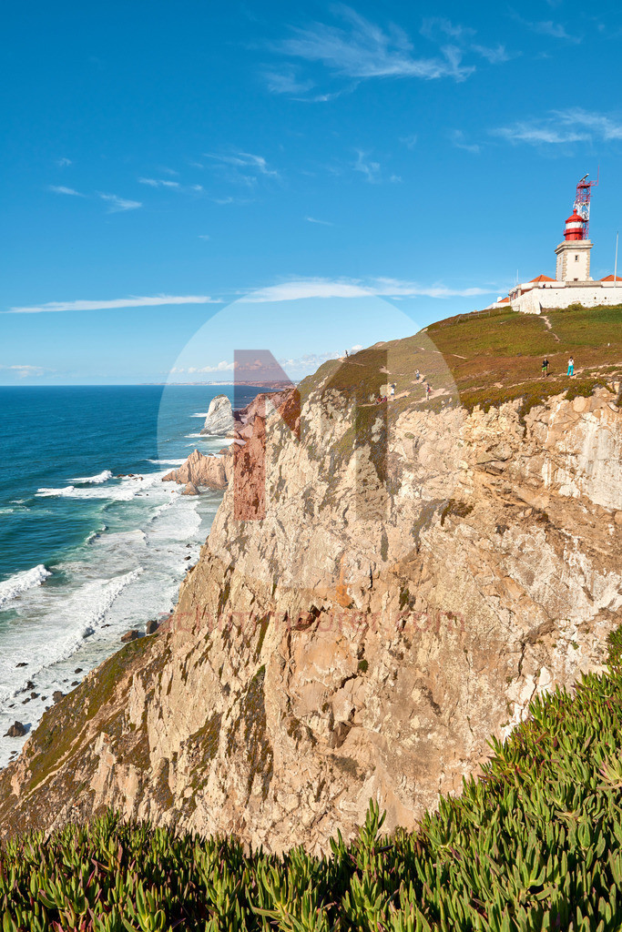 Cabo da Roca - der westlichste Punkt von Europa in Portugal