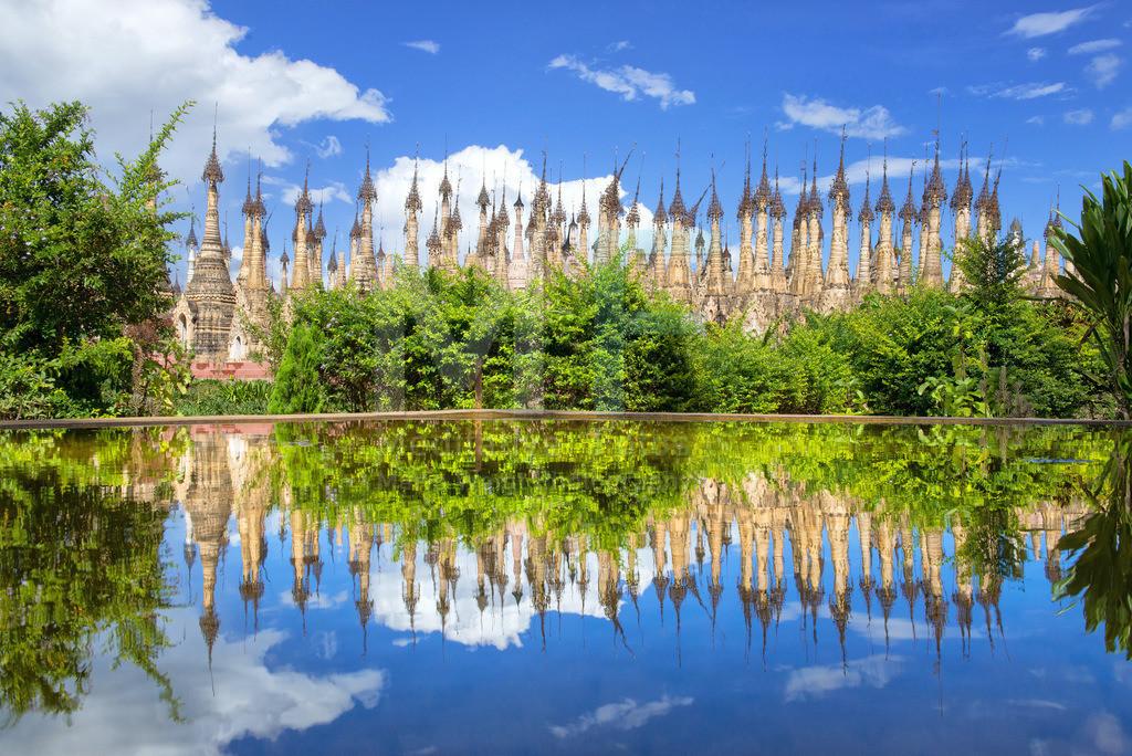MW0117-5724 | Pagodenkomplex Kakku  ** Feindaten bitte anfragen bei Mario Weigt Photography, info@asia-stories.com **