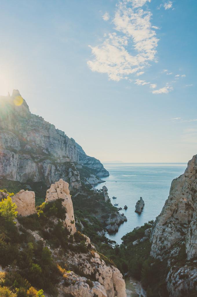 Marseille | Marseille, Frankreich, Südfrankreich, Süden, Mittelmeer, Urlaub, Sommer, Calanques, Nationalpark, Klippe, Felsen, Berge, Bucht, Strand, Meer