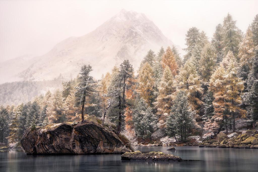 Winterstimmung im Engadin