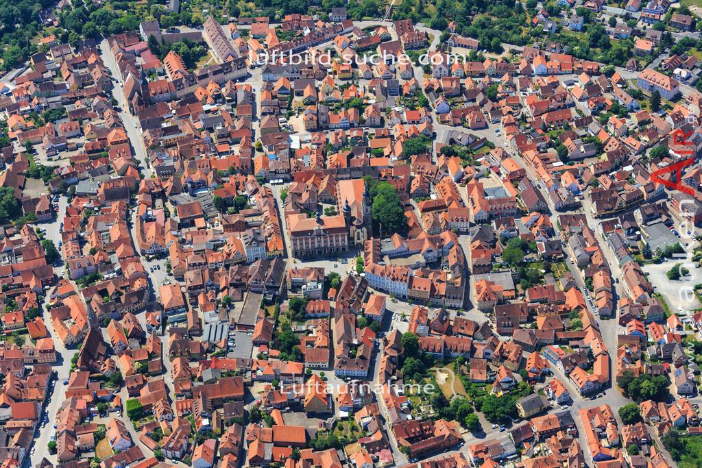 rathaus-bad-windsheim-2015-57 | Luftbild von Rathaus Bad-windsheim - Luftaufnahme wurde 2015 von https://frankenair.de mittels Flugzeug (keine Drohne) erstellt - die Geschenkidee