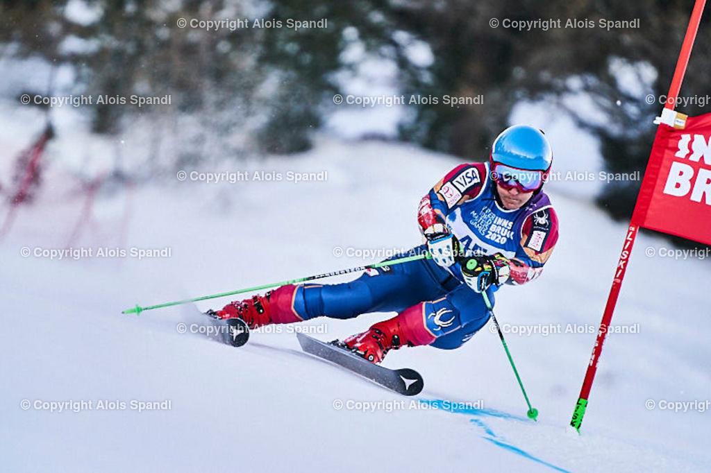 ALS5932_WWMG_GS-II_C | (C) FotoLois.com, Alois Spandl, WinterWorldMastersGames 2020 Innsbruck, Giant Slalom-II Gruppe C Damen, Patscherkofel Olympiaabfahrt, Mi 15. Jänner 2020.