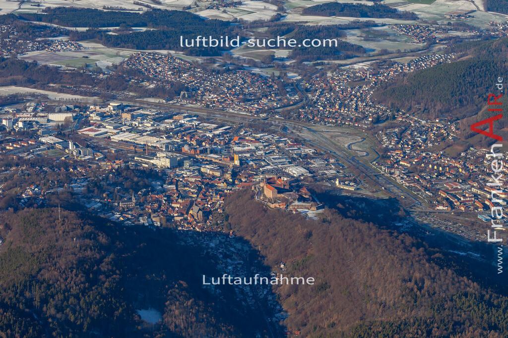 kulmbach-19-131 | aktuelles Luftbild von  Kulmbach - Luftaufnahme wurde 2019 von https://frankenair.de mittels Flugzeug (keine Drohne) erstellt.