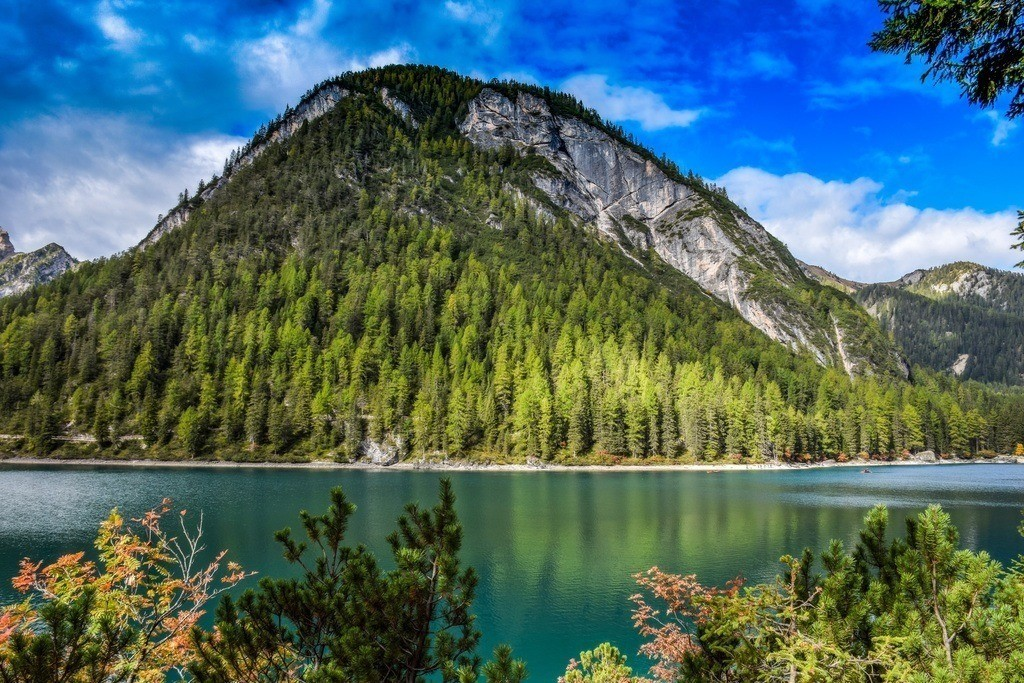 Lago di Braies | Bergpanorama am Pragser Wildsee