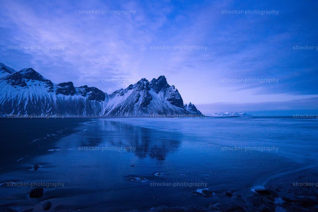 Vestrahorn Night | Vestrahorn bei Nacht in Island