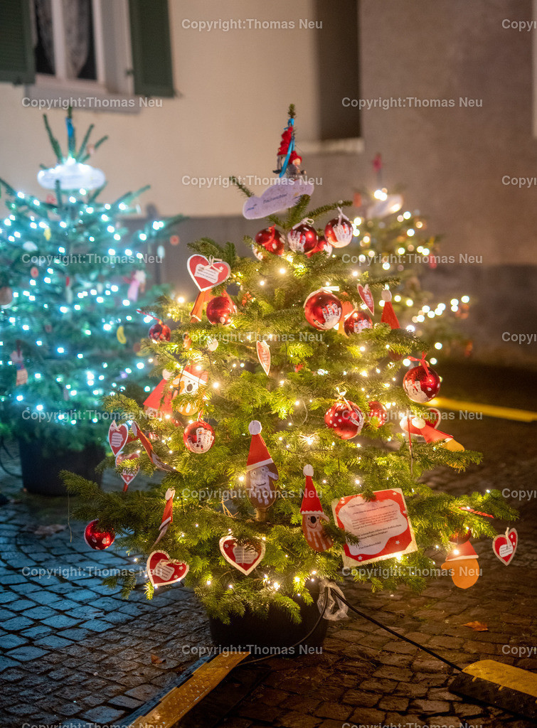 DSC_3944 | ble,Lorsch, blaues Weihnachtswunder, Innenstadt, ,, Bild: Thomas Neu