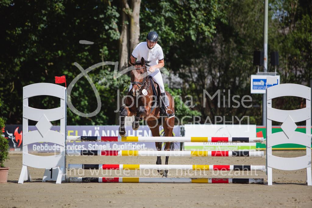 200819_Delbrück_Sprpf-A_1_2-023   Delbrück Masters 2020 Springpferdeprüfung Kl. A* 4jährige Pferde