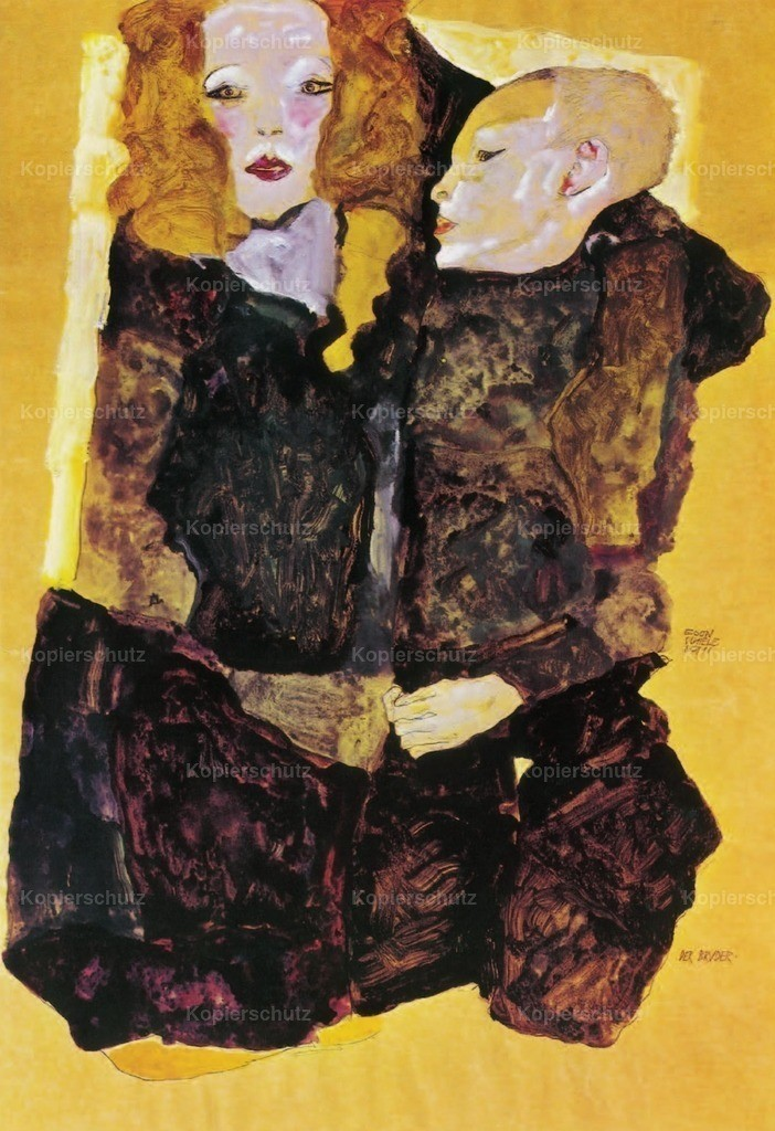 Schiele_ Egon (1890-1918) - The Brother 1911
