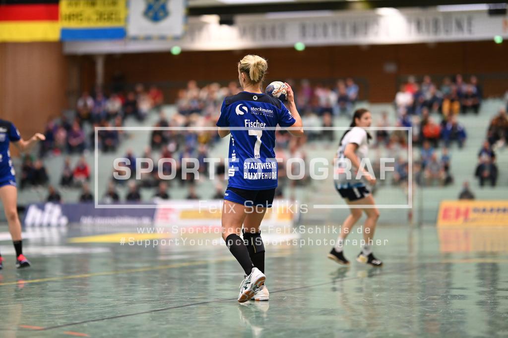 FZ6_9426   ; 1. Handball-Bundesliga Frauen I 1. Spieltag I Buxtehuder SV - Neckarsulmer Sport-Union am 05.09.2020 in Buxtehude  (Sporthalle Kurt-Schuhmacher Strasse), Deutschland
