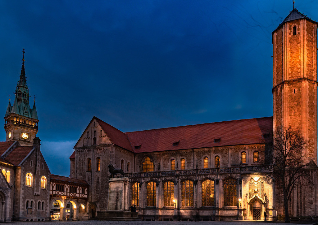 Braunschweig zur blauen Stunde 2