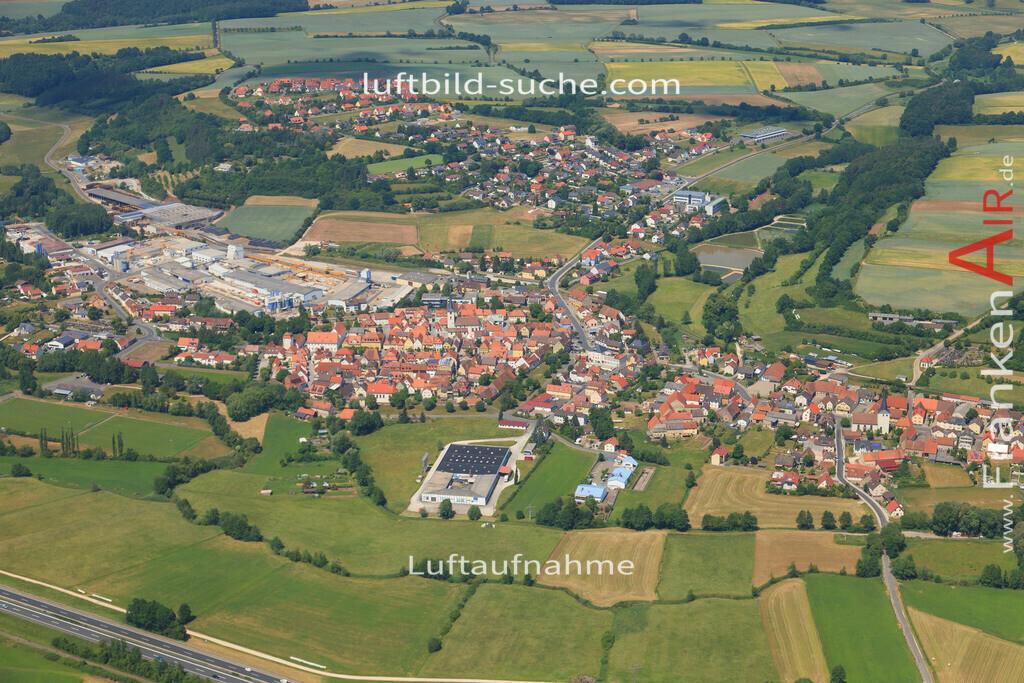 luftbild-schluesselfeld-2015-4719 | Luftbild von  Schluesselfeld - Luftaufnahme wurde 2015 von https://frankenair.de mittels Flugzeug (keine Drohne) erstellt - die Geschenkidee