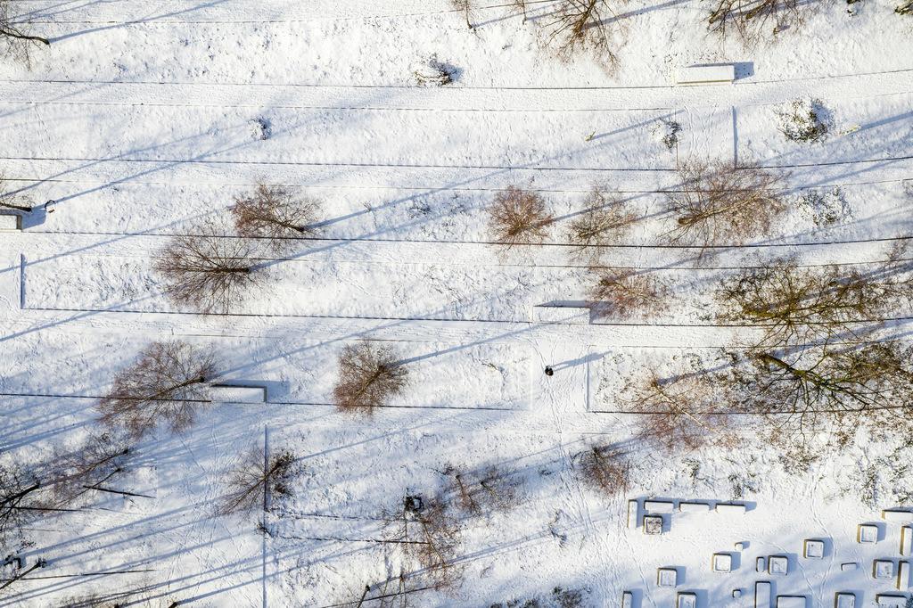 JT-190201-012 | Zollverein Park im Winter, ehemalige Gleise