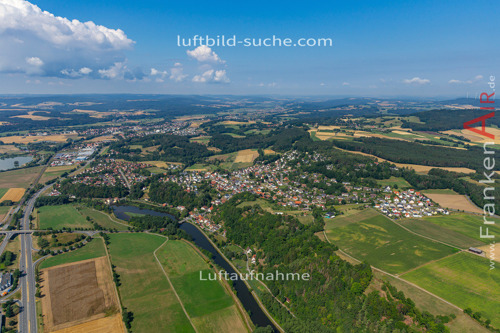 burghaig-19-527 | aktuelles Luftbild von Burghaig   - Luftaufnahme wurde 2019 von https://frankenair.de mittels Flugzeug (keine Drohne) erstellt.