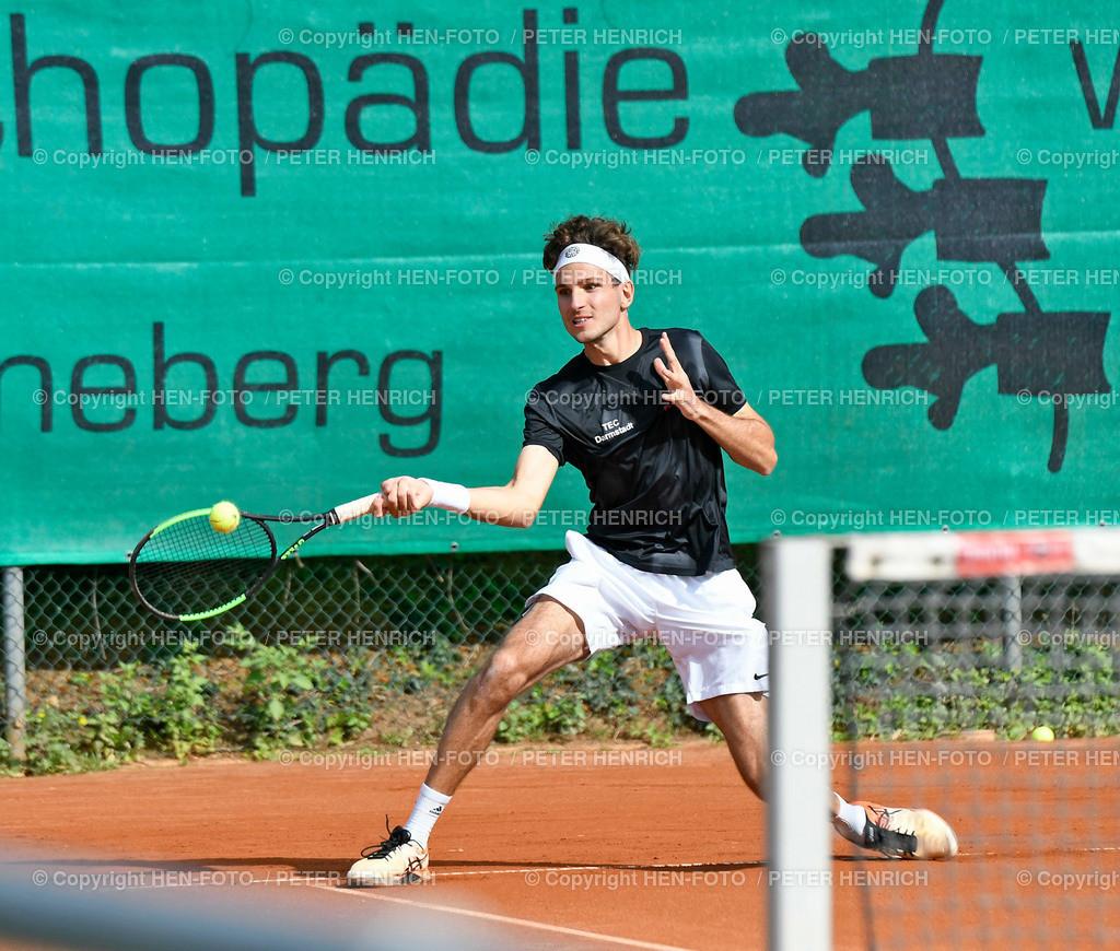 Tennis Herren Gruppenliga TEC Darmstadt II - RW Giessen II copyright by HEN-FOTO | Tennis Herren Gruppenliga TEC Darmstadt II - RW Giessen II Marco Ferrandina (TEC) gg Sebastian Dietz (G) copyright by HEN-FOTO / Foto: Peter Henrich