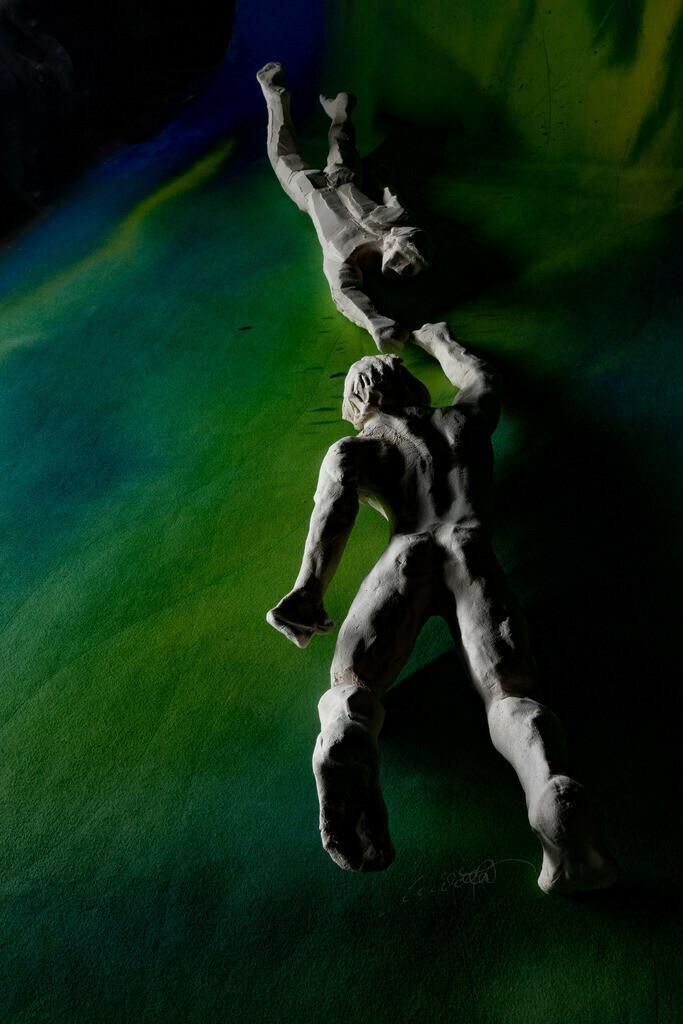 Adam und Adam- wer rettet wen? 1 | Beide aus Erde,  beide auf dem Wasser, beide auf der Reise,  beide gefallen, wer rettet wen? Gott – beide.