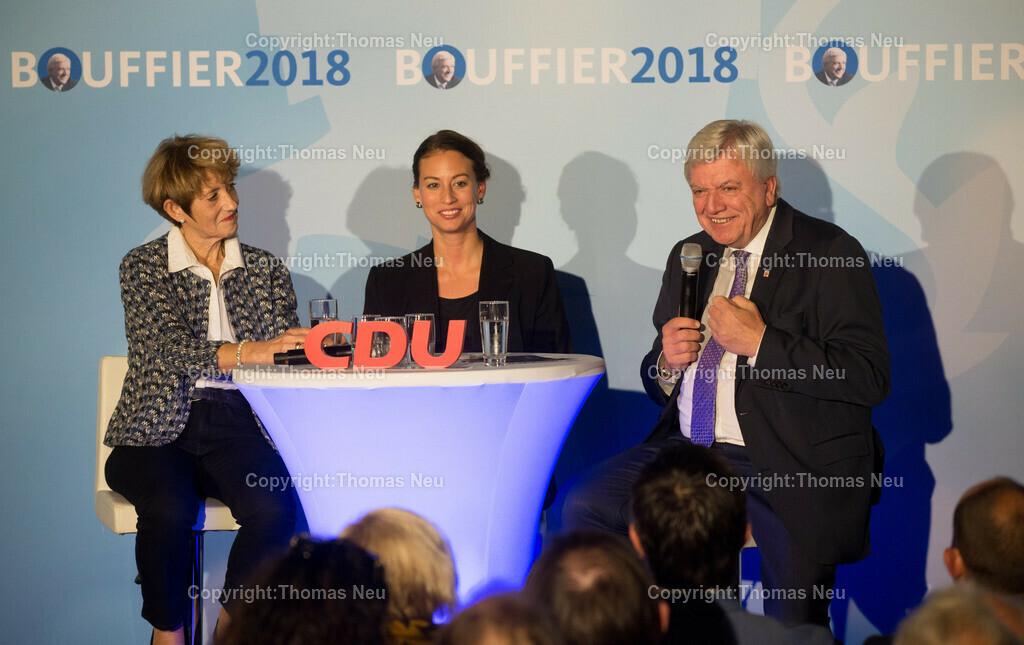 DSC_1417 | Zwingenberg, Wahlkampfveranstaltung mit Ministerpräsident Volker Bouffier, Ehefrau Ursula, Moderatorin Caroline Bosbach, ,, Bild: Thomas Neu