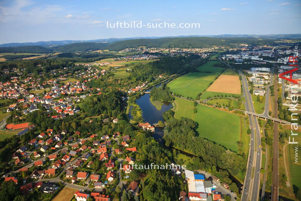 burghaig-kulmbach-2012-541 | Luftbild von Burghaig Kulmbach - Luftaufnahme wurde 2012 von https://frankenair.de mittels Flugzeug (keine Drohne) erstellt - die Geschenkidee