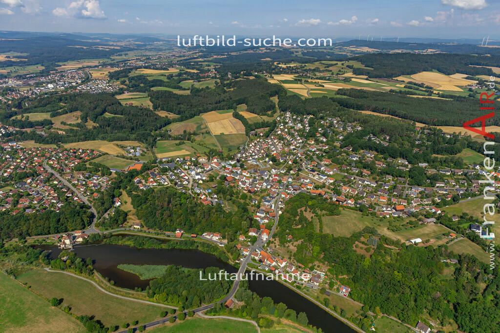 burghaig-19-535 | aktuelles Luftbild von Burghaig   - Luftaufnahme wurde 2019 von https://frankenair.de mittels Flugzeug (keine Drohne) erstellt.