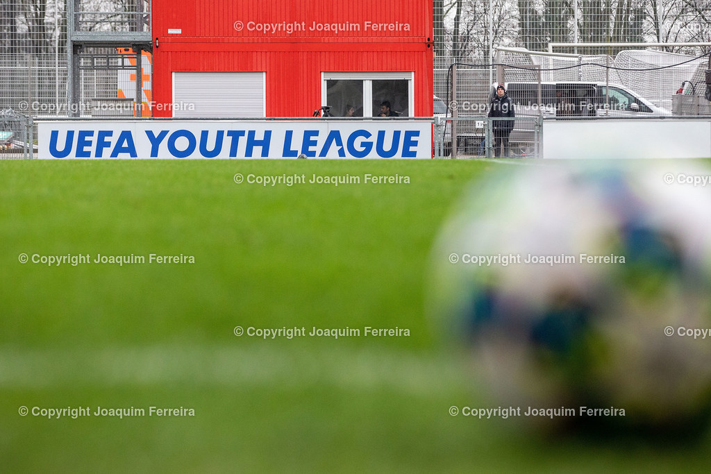 191211_levvsjuvu19_0731 | Leverkusen, 11.12.2019 UEFA Youth League Gruppe D Bayer 04 Leverkusen U19 - Juventus Turin emspor, v.l.,  Symbolbild, UEFA Youth League, Ball     (DFL/DFB REGULATIONS PROHIBIT ANY USE OF PHOTOGRAPHS as IMAGE SEQUENCES and/or QUASI-VIDEO)