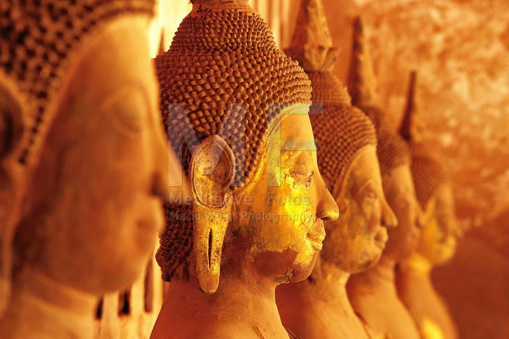 MW0115-3489 | Laos: Buddha-Statuen im Wat Si Sa Ket in Vientiane