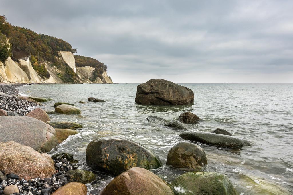 Die Ostseeküste auf der Insel Rügen im Herbst | Die Ostseeküste auf der Insel Rügen im Herbst.