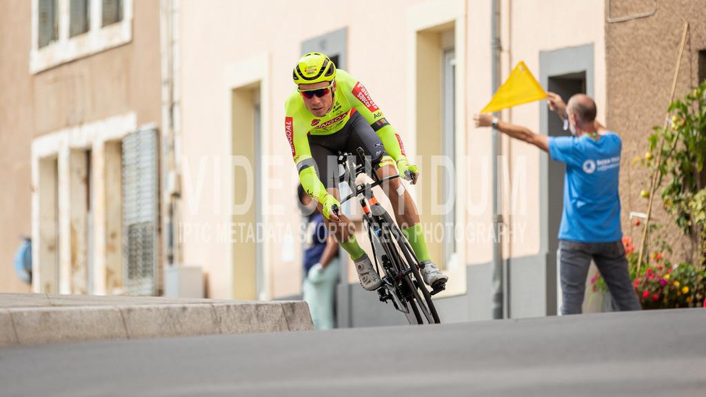 81st Skoda-Tour de Luxembourg 2021 | 81st Skoda-Tour de Luxembourg 2021, Stage 4 ITT Dudelange - Dudelange; Dudelange, 17.09.2021: PEYSKENS Dimitri (Bingoal Pauwels Sauces WB, 104)
