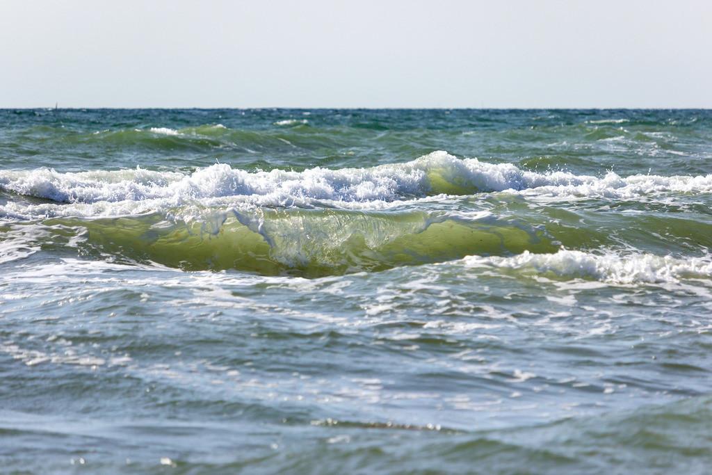 Weidefelder Strand | Wellen am Weidefelder Strand