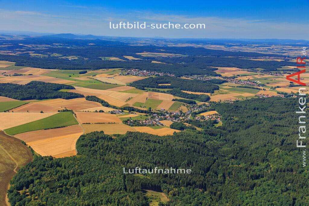 untersiemau-2015-2156 | Luftbild von  Untersiemau - Luftaufnahme wurde 2015 von https://frankenair.de mittels Flugzeug (keine Drohne) erstellt - die Geschenkidee